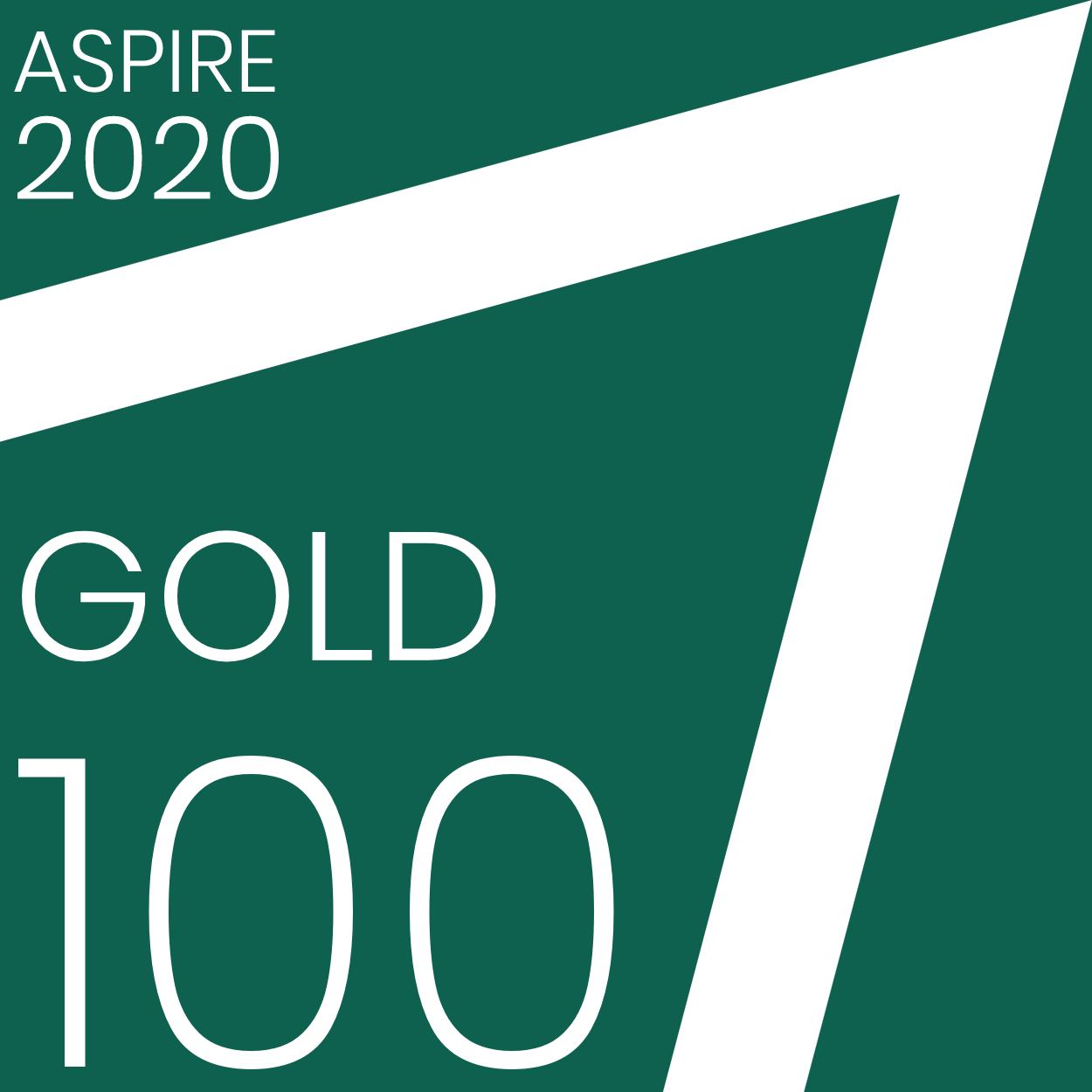 Aspire Gold 100 badge