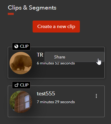 Other Clip Option